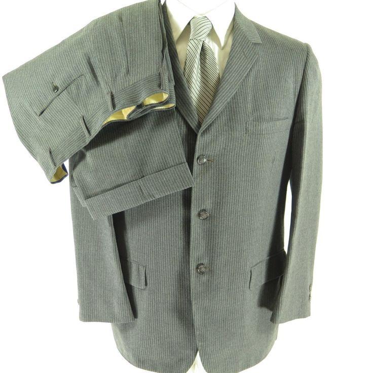 1980s Vintage Black Wool Gaberdine Mess Jacket Kilt Silver Buttons Epaulets Short Chain Button Size 52 Union Made cte7fKD