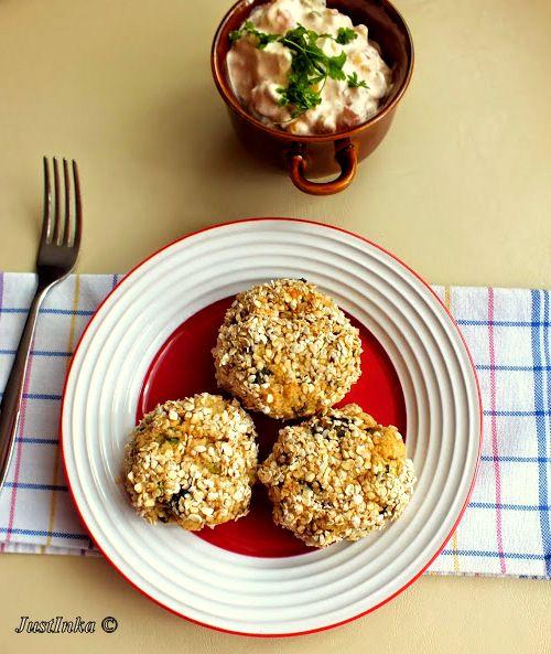 Pieczone kotlety z kaszy jaglanej z cukinią « Justinka in The Kitchen