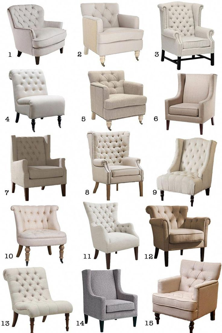 15 Affordable neutral armchairs from Amazon! A couple are