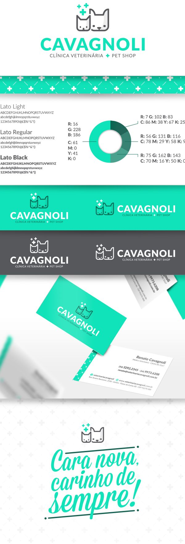 Cavagnoli Clínica Veterinária + Pet Shop on Behance