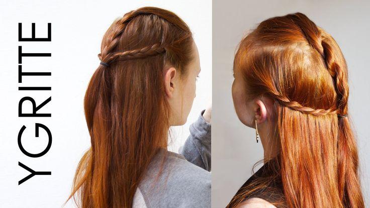 Game of Thrones Ygritte Hair tutorial