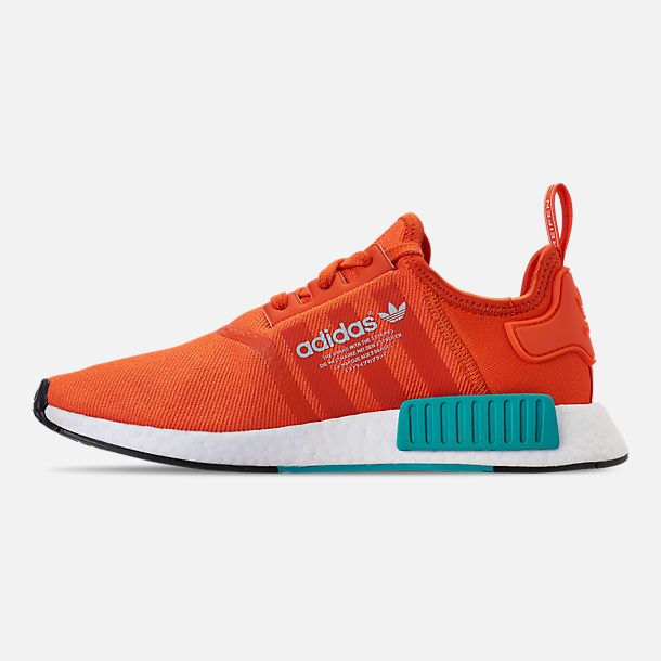Left view of Men's adidas NMD Runner R1 Casual Shoes   Adidas nmd ...