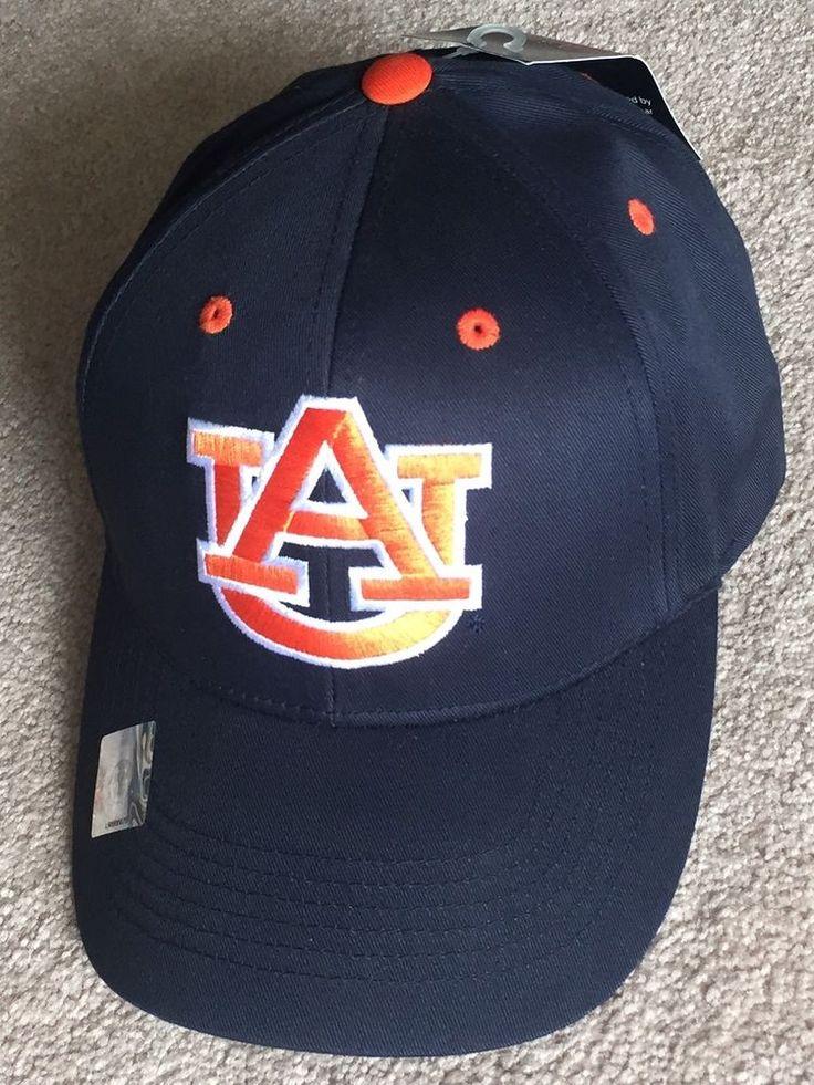 New NCAA Auburn University Tigers Baseball Hat Blue School Embroidered Logo Cap #CollegiateHeadwear #AuburnTigers