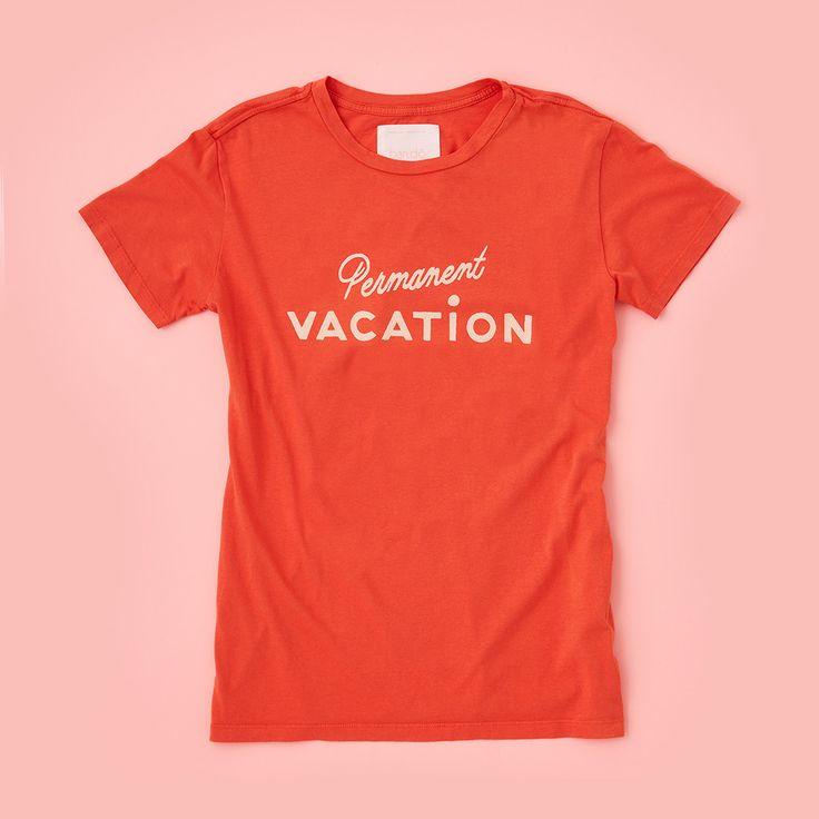 T-shirt - Permanent Vacation Tee
