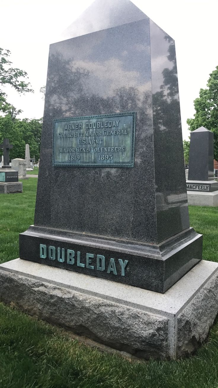 Abner Doubleday was a Union General in the Civil War. He fired the first shot at Fort Sumter. He also fought in the Battle of Gettysburg