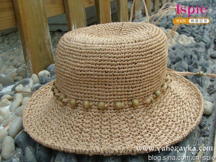 Шляпка для лета