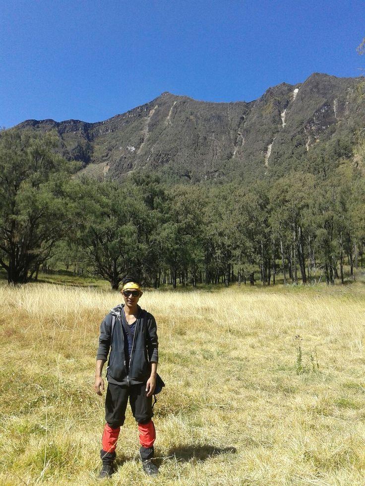 At Lembah Kidang Arjuno Mt.