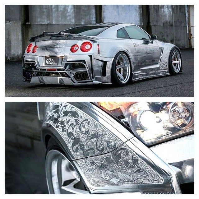 Kuhl racing gtr wrapped in this superfly 3d wrap