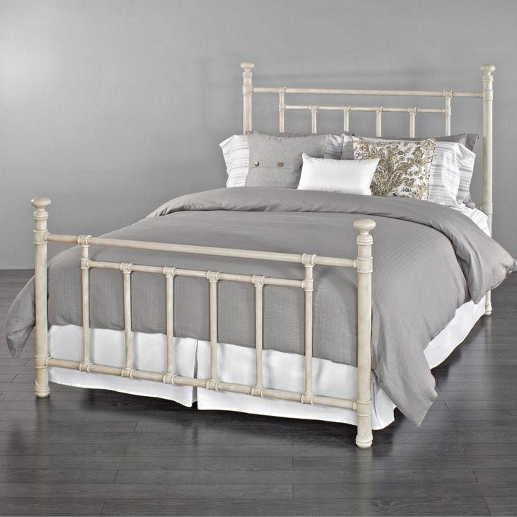Inventive, Fun Loving And Simplistic, The Blake Iron Bed Personifies  Classicu2026