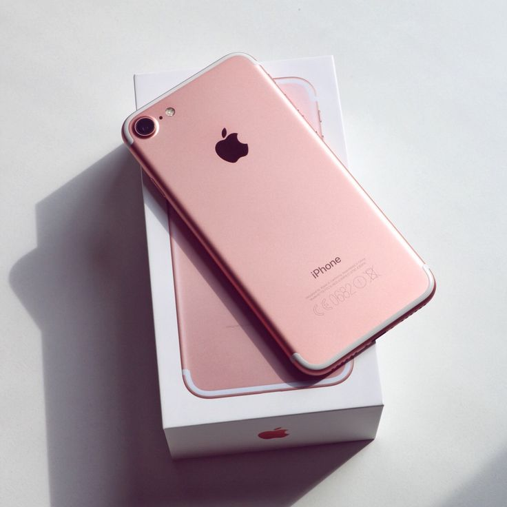 Rose Gold IPhone 7 Plus. It has a great camera and…