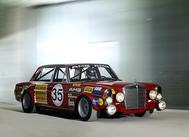 find this pin and more on mercedes 300 sel 68 amg red pig