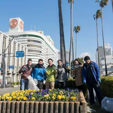 Workaway in Japan. Experience Japan in Tokushima as Volunteer! Nice People, free Japanese class and many events!