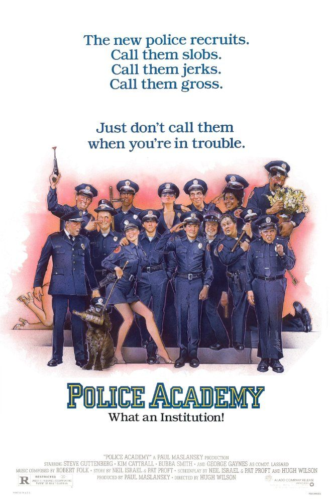Η μεγάλη των μπάτσων σχολή (1984)