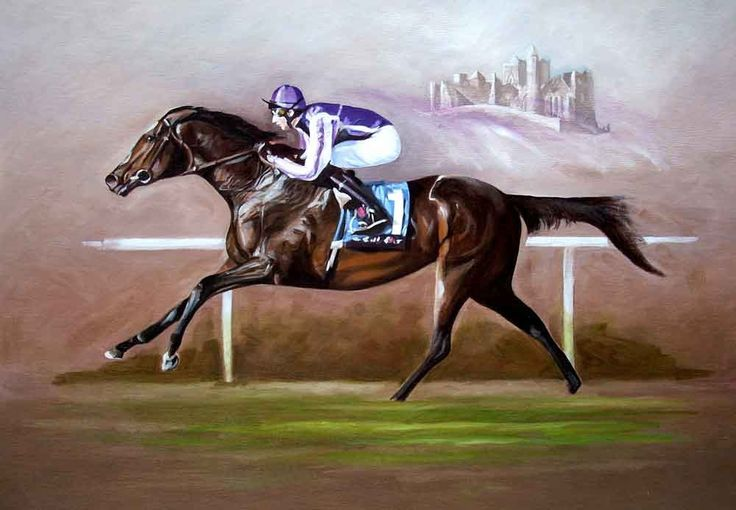 Camelot by Neil O'Dwyer on ArtClick.ie Equine Art