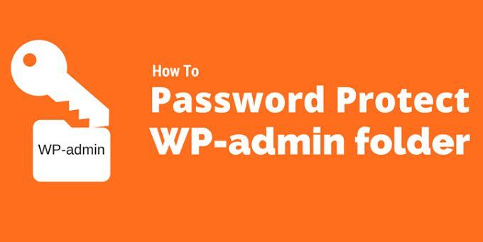 WordPress WP Admin Ko Password Protect Kaise Banaye?