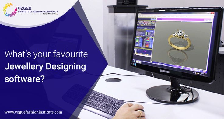 Which software do you prefer to use for jewellery designing and why? •3D CAD •Matrix •3Design •ZBrush  For more details visit @ https://goo.gl/kNyL7V  #VIFT | #MaterialsDesignCollege  | #JewelleryDesigning | #DesignCourse |#DesignCollege