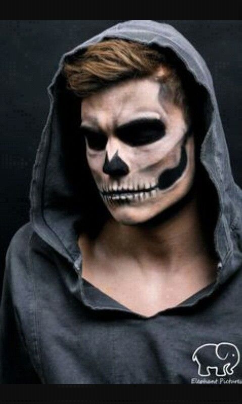 mens halloween makeup