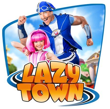 Sportacus and Stephanie from LazyTown http://www.lazytown.com/en_US/home www.t-ooth.net
