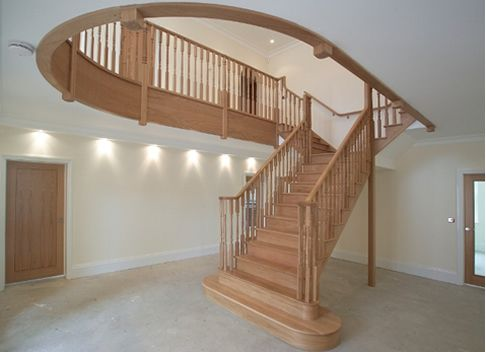 Best Funky Stairs Alternating Treated Stairs Floating 400 x 300