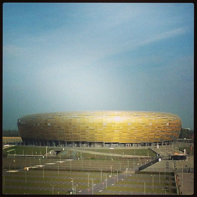 by gdansk_official Amber beauty :) #gdansk #pgearena #stadium #igersgdansk #amber #beauty