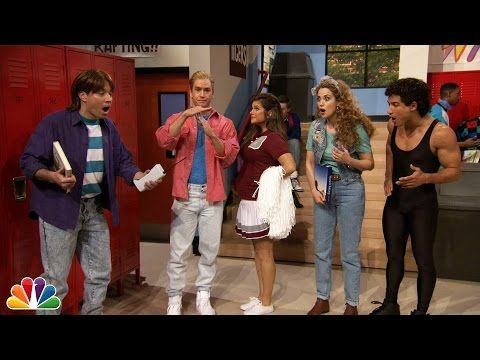 """There Was A Perfect """"Saved By The Bell"""" Reunion On """"The Tonight Show"""" That'll Send You Back In Time"""