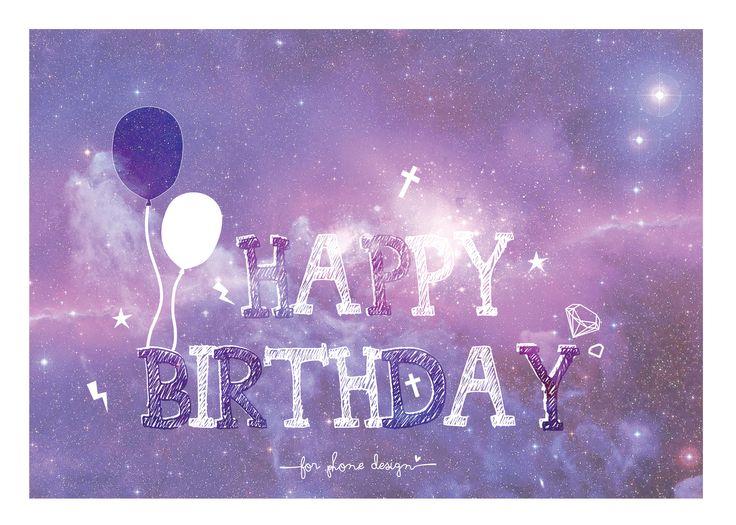 Happy Birthday #Galaxy #art