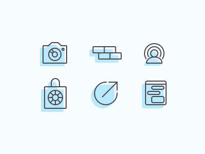 Marketing Icons by Ryan Murphy