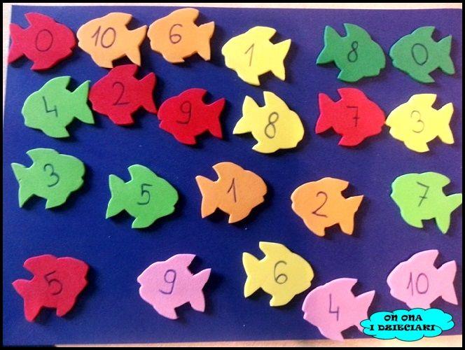 ON ONA I DZIECIAKI blog o adopcji, podróżach z dziećmi  i kreatywnych zabawach.: Między zerem a nieskończonością - łowienie ryb - g...