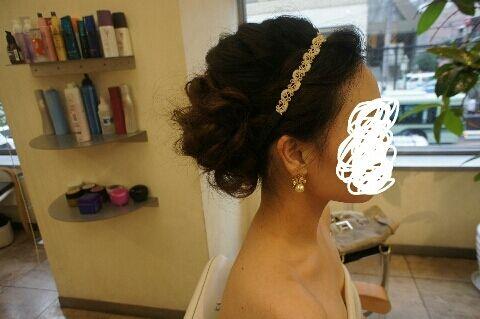 ヘアメイク、小物合わせ♡|~グラの結婚準備blog~ALL DRESSED IN LOVE!