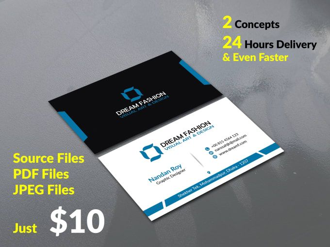 I Will Design Professional Business Card Within 24 Hours Professional Business Cards Business Card Design Business Cards