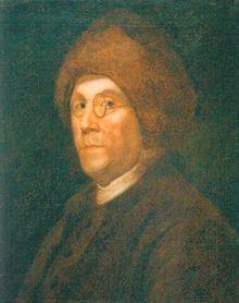 仏米同盟条約に大きく貢献した偉大なベンジャミン・フランクリン。