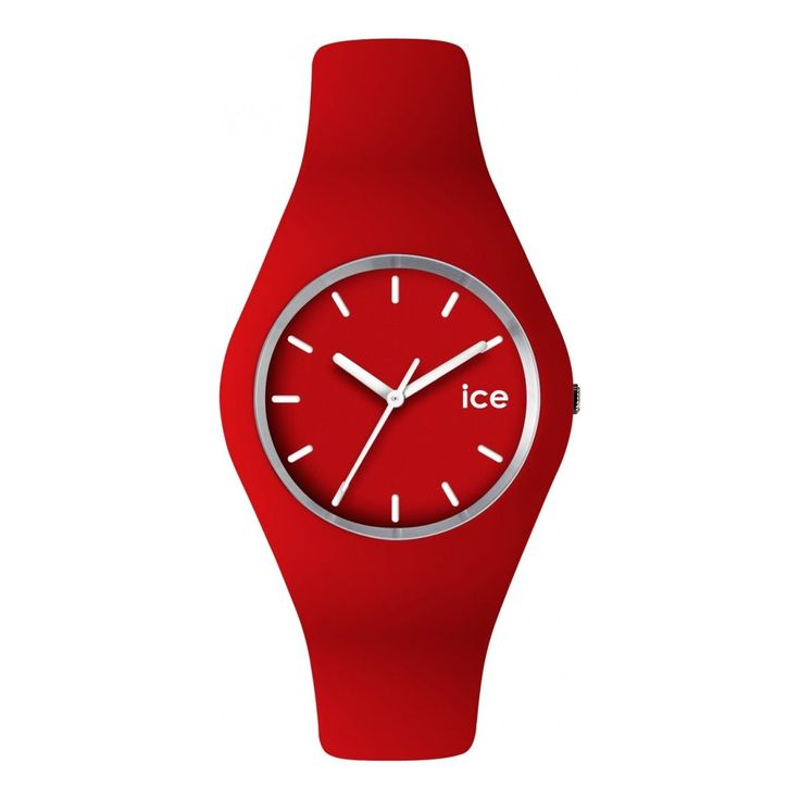 watchsupermarket.co.uk - Unisex Ice-Watch Red Watch - Ice-Collection