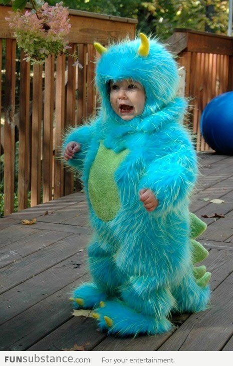 If I had a son right now, this would be his Halloween costume.