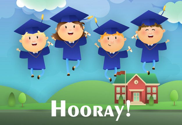 Download Hooray Graduation Poster Design For Free Background
