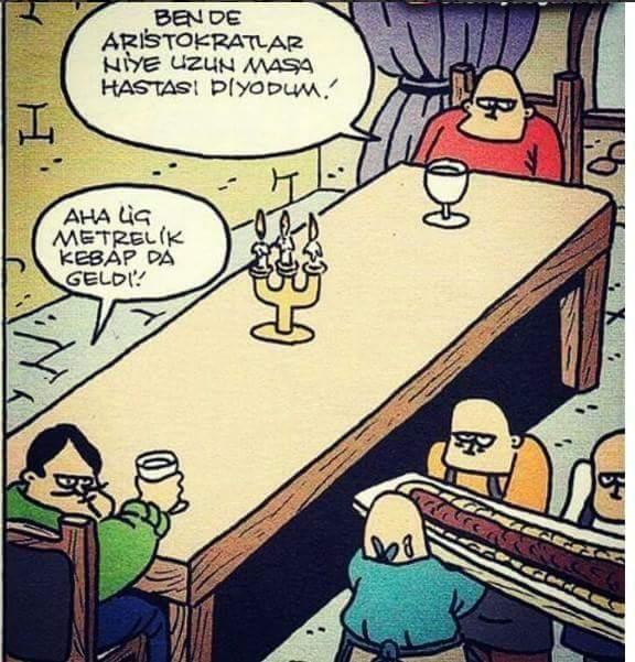 Uzun Masa Karikatürü Özer Aydoğan | Karikatürname