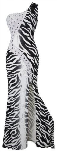 Angel-fashions Women's One Shoulder Z... for only $39.99
