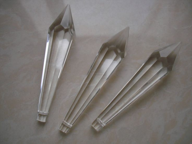 Gratis verzending 100 st 76mm crystal u drop prism onderdelen verlichting…