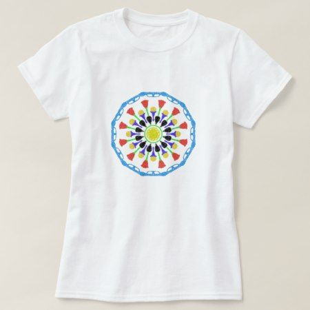 abstract colorful circle pattern T-Shirt - click to get yours right now!