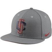 Nike UCONN Huskies Platinum Elite Brightened Snapback Hat - Gray