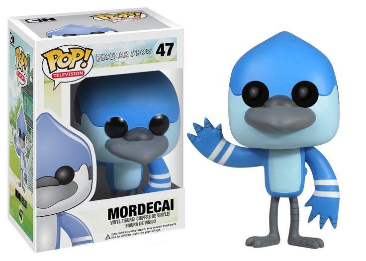 Amazon.com: Funko POP Television Mordecai Regular Show Vinyl Figure: Toys  Games