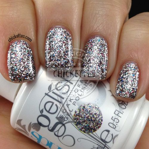 Gel Nail Polish Trends: Chickettes.com Gelish Trends - Girls' Night Out