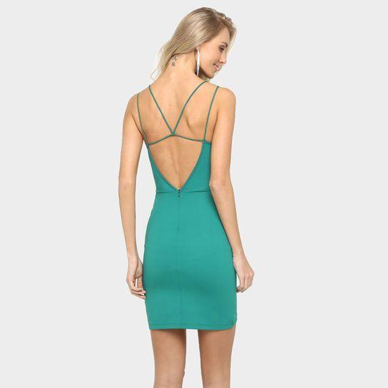Vestido Colcci Tiras - Verde