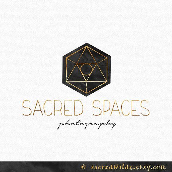 Hexagon Logo Design Sacred Geometry Geometric by SacredWilde