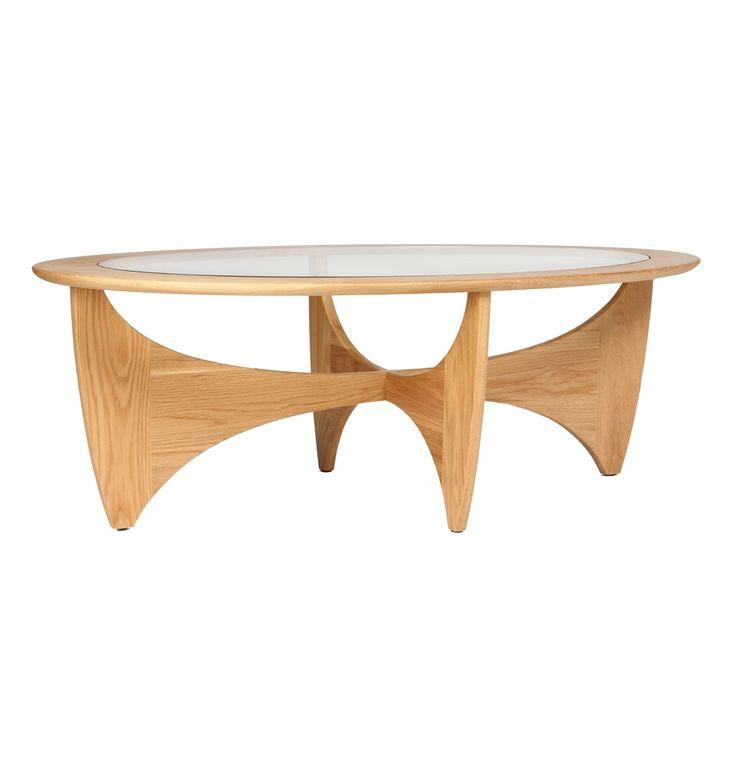 Replica G-Plan Coffee Table - Matt Blatt
