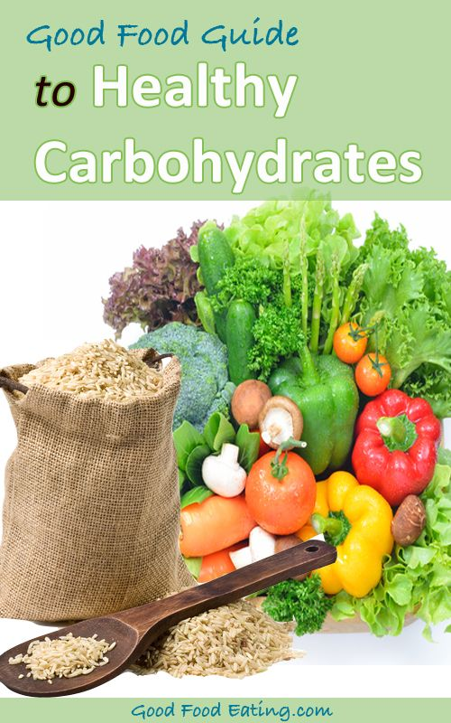 Have you ever wondered what the best sources of carbohydrates are? There's lots of good info here.