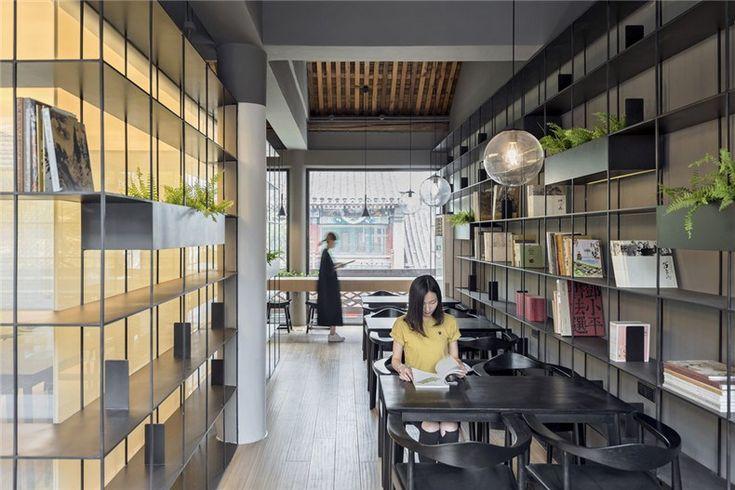 韩文强:荣宝斋咖啡书屋设计10