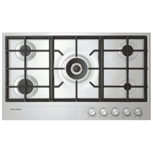 Fisher & Paykel 90cm Gas Cooktop CG905DX1 | E&S Trading - Kitchen, Bathroom & Laundry