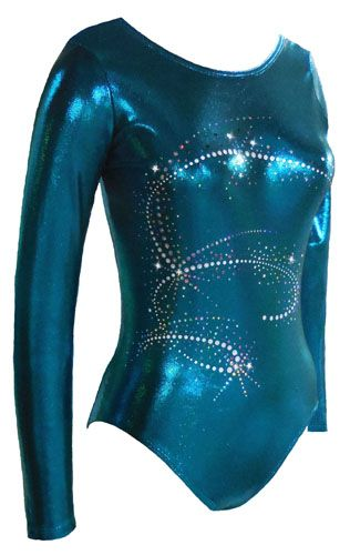Our Aerial Long Sleeve Leotard is exquisite!