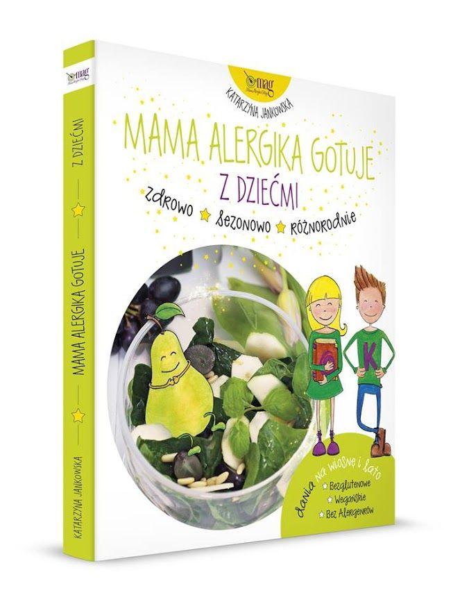 """Nowa książka """"Mama Alergika Gotuje z dziećmi"""". Nie możemy się doczekać. Znamy dobrze przepisy z poprzednich książek i stosujemy je na co dzień. Czas na wspólne gotowanie z naszymi dziećmi. Co Wy na to? #alergia #astma #mamaalergikagotuje #książka"""