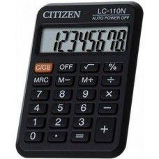 Zsebszámológép 8 számjegyes, nagy kijelzővel Citizen LC-110N - Számológépek Ft Ár 739